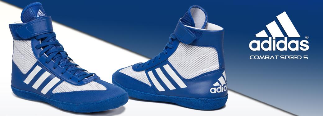 Adidas Combat Speed 5 modro-bílá
