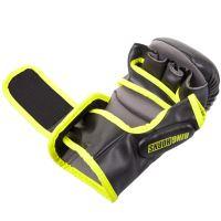MMA rukavice Ringhorns Charger Sparring černo - Neo žlutá 5