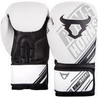 Boxerské rukavice RingHorns Nitro bílá 2