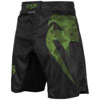 MMA šortky Venum Light 3.0 černo-zelená