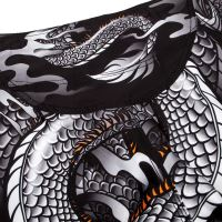 MMA šortky Venum Dragons Flight černo-bílá