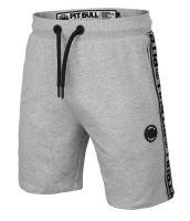 Pánské šortky Pitbull West Coast French Terry Small Logo šedý melír