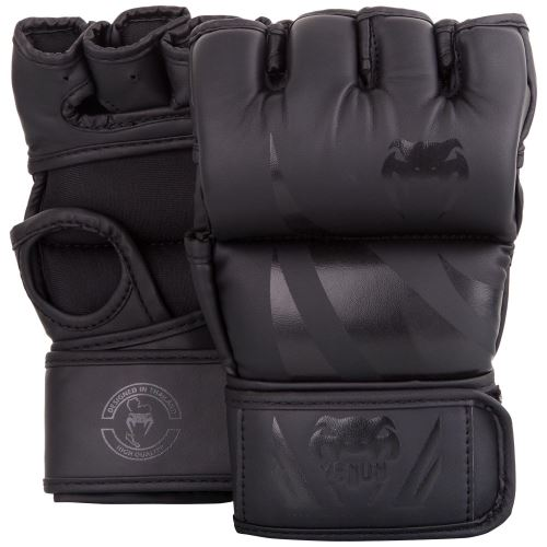 MMA rukavice Venum Challenger bez palce matná černá