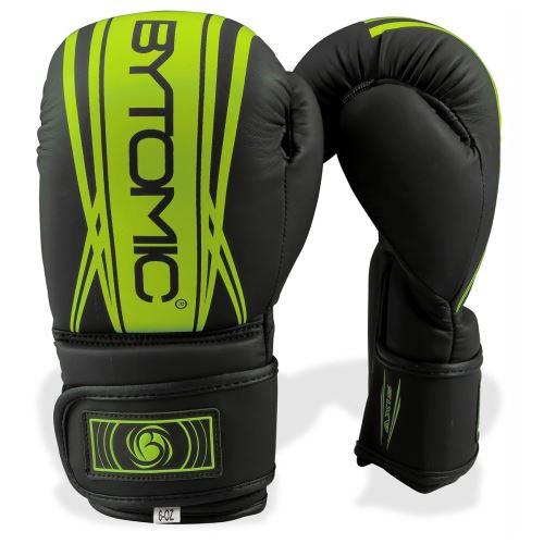 Boxerské rukavice Bytomic AXIS V2 dětské, černo/zelená - 6oz