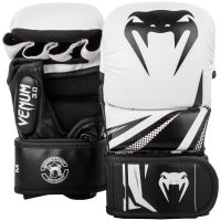 MMA rukavice Venum Challenger 3.0 Sparring bílo-černá