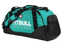 Sportovní taška Pitbull West Coast TNT černo/tyrkysová