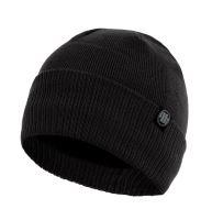 Zimní pletená čepice Pitbull West Coast Small Logo černá