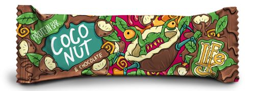 LifeLike Protein Bar Coconut & chocolate 50g
