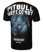 Tričko Pitbull West Coast Black DOG černá