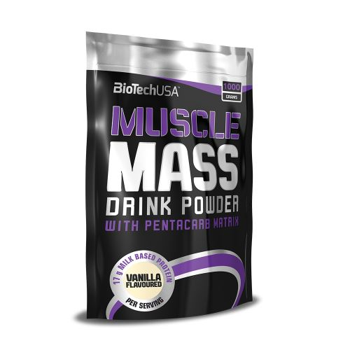 BioTech USA Gainer Muscle Mass 1000g