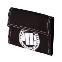 Peněženka Pitbull West Coast Logo 16 černo-bílá
