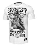 Tričko Pitbull West Coast Bare Knuckle bílá
