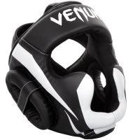 Chránič hlavy Venum Elite černo-bílá