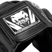 Chránič hlavy Venum Elite černo-bílá 5