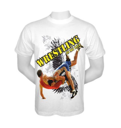 Tričko Wrestling is my LIFE