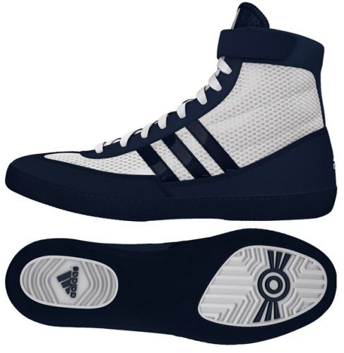 Zápasnické boty adidas Combat Speed 4, modro-bílá