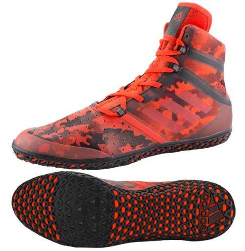 Zápasnické boty Adidas Flying Impact červená