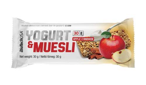 BioTech Yogurt & Muesli 30g - jablko/skořice