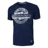 Tričko Pitbull West Coast Banner tmavě modrá