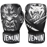Boxerské rukavice Venum Devil černo-bílá
