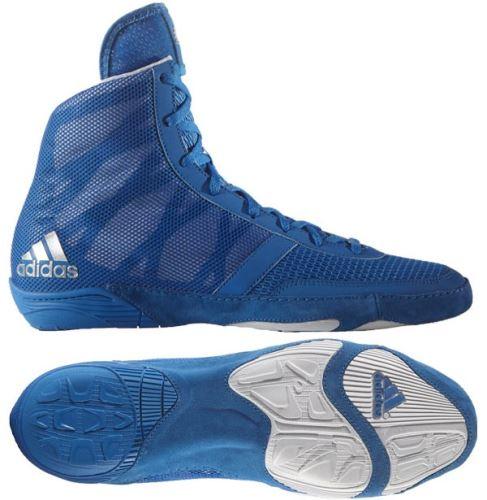 Zápasnické topánky Adidas Pretereo 3 modrá