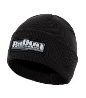 Zimní pletená čepice Pitbull West Coast One Tone Boxing černá