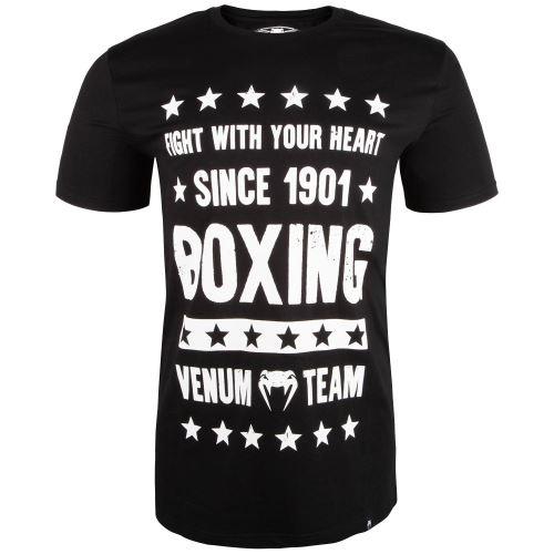 Tričko Venum Boxing Origins černá