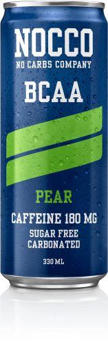 NOCCO BCAA – 330 ml (sycený) hruška