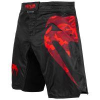 MMA šortky Venum Light 3.0 černo-červená