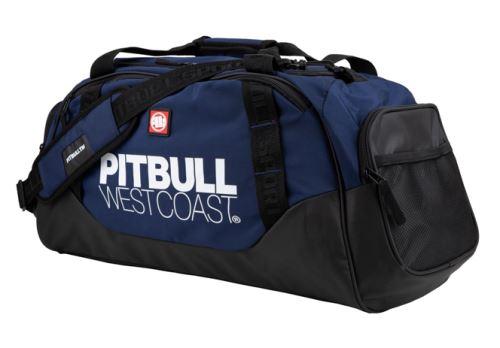 Sportovní taška Pitbull West Coast TNT černo tmavě modrá