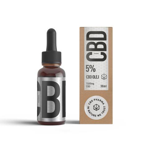 CBD olej 5% – 30ml