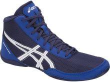 Zápasnické boty Asics Matflex 5 dětské, modrá