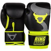 Boxerské rukavice RingHorns Charger černo-žlutá 2