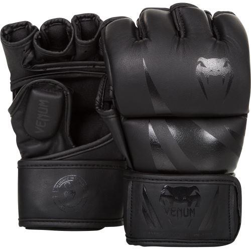 MMA rukavice Venum Challenger, matná černá
