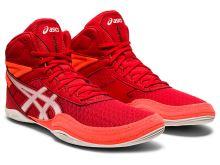 Zápasnické boty Asics Matflex 6 dětské červená