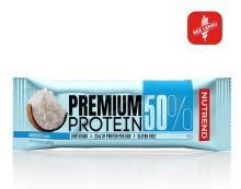 Nutrend Premium Protein 50 bar 50g kokos