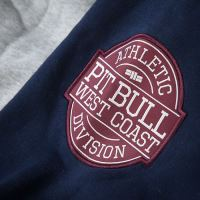 Mikina Pitbull West Coast Athletics šedo-modrá 5