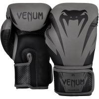 Boxerské rukavice Venum Impact šedo-černá 2