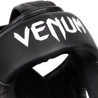Chránič hlavy Venum Elite černo-bílá 4