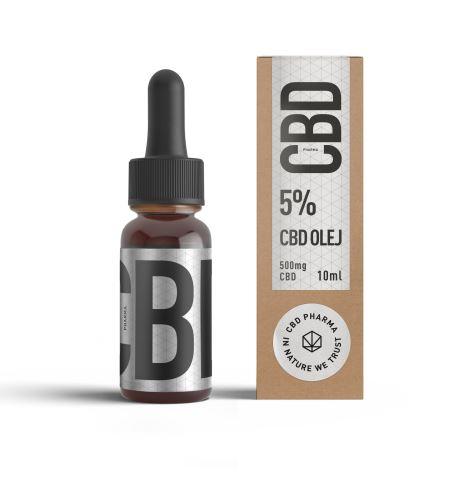 CBD olej 5% – 10ml