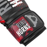 Boxerské rukavice RingHorns Charger MX červený maskáč 3