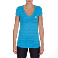 Dámské tričko VENUM Essential V Neck modrá