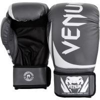 Boxerské rukavice Venum Challenger 2.0 šedo-bílá 2
