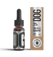 CBD pro psy v konopném oleji 3% 10ml