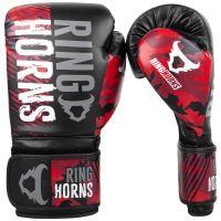 Boxerské rukavice RingHorns Charger MX červený maskáč