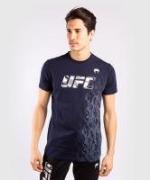 Pánské tričko UFC Venum Authentic Fight Week námořní modrá