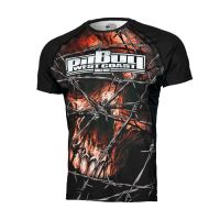 Rashguard Pitbull West Coast Wired Skull