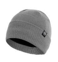 Zimní pletená čepice Pitbull West Coast Small Logo šedá