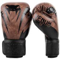Boxerské rukavice Venum Impact černo-hnědá