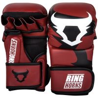 MMA rukavice Ringhorns Charger Sparring červená